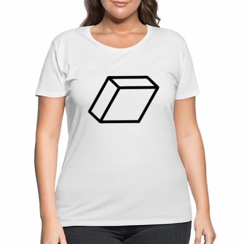 rhombus3 ai - Women's Curvy T-Shirt