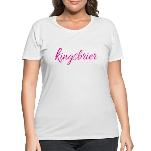 Kingsbrier - Women's Curvy T-Shirt