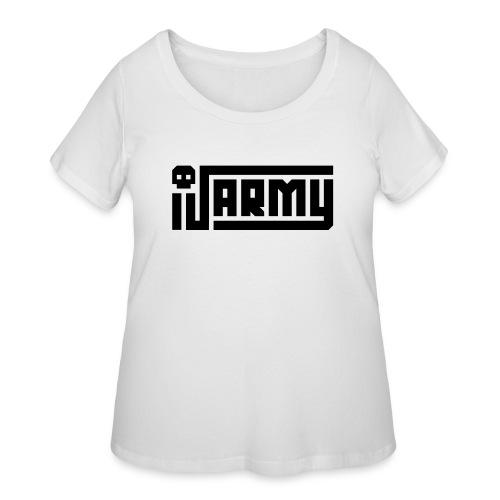iJustine - iJ Army Logo - Women's Curvy T-Shirt