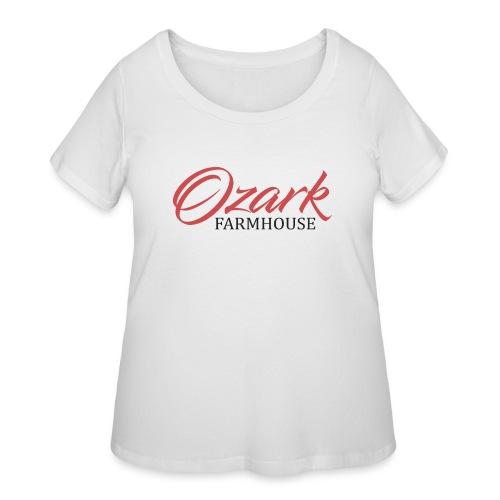 Ozark Farm House - Women's Curvy T-Shirt