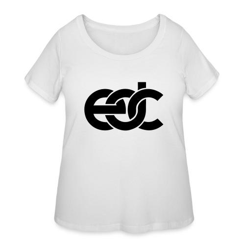 EDC Electric Daisy Carnival Fan Festival Design - Women's Curvy T-Shirt