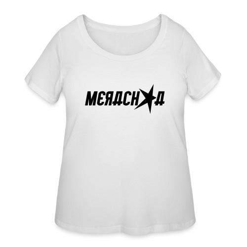 Merachka Logo - Women's Curvy T-Shirt