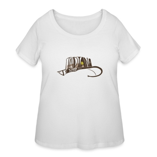 Wear The Hat - Women's Curvy T-Shirt