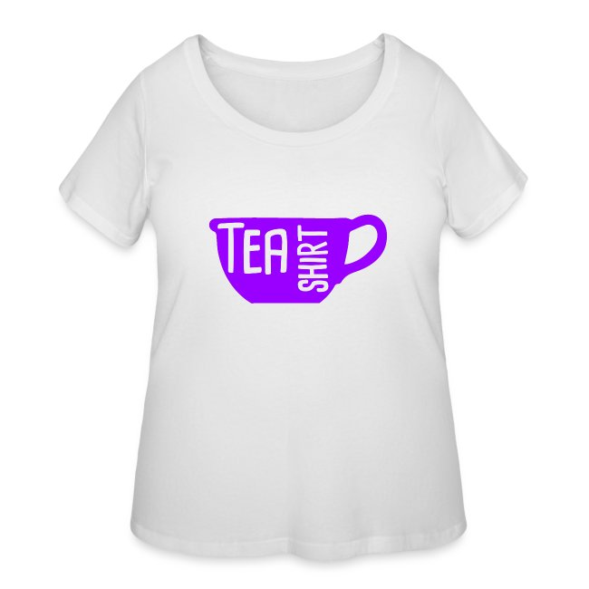 Tea Shirt Purple Power of Tea