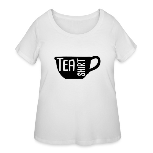 Tea Shirt Black Magic - Women's Curvy T-Shirt