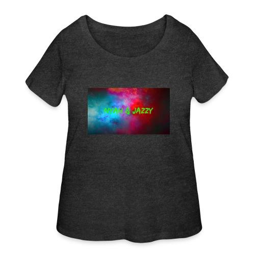 NYAH AND JAZZY - Women's Curvy T-Shirt
