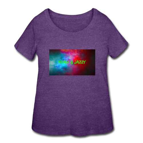 NYAH AND JAZZY - Women's Curvy T-Shirt