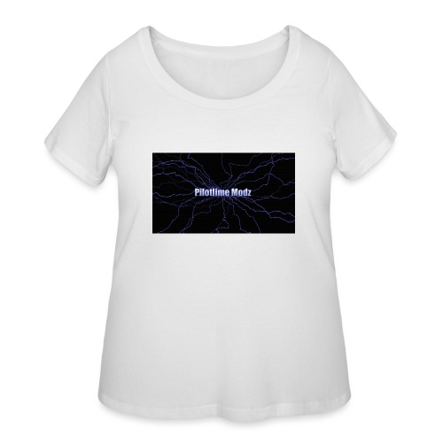 backgrounder - Women's Curvy T-Shirt