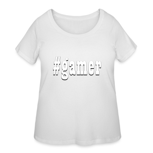 Perfection for any gamer - Women's Curvy T-Shirt