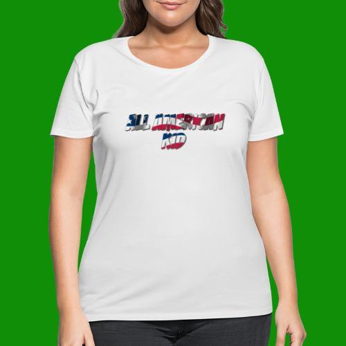 ALL AMERICAN KID - Women's Curvy T-Shirt