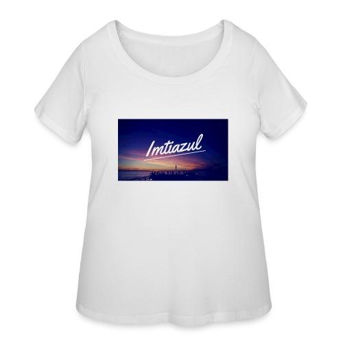 Copy of imtiazul - Women's Curvy T-Shirt