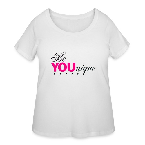 Be Unique Be You Just Be You - Women's Curvy T-Shirt