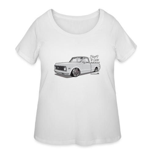 Short & Low C10 - Women's Curvy T-Shirt