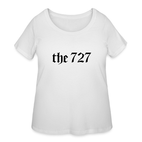 The 727 in Black Lettering - Women's Curvy T-Shirt