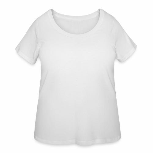 White Duh - Women's Curvy T-Shirt