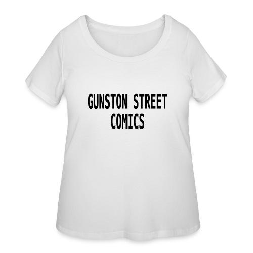 GUNSTON STREET COMICS - Women's Curvy T-Shirt