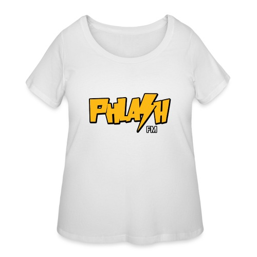 PHLASH fm - Women's Curvy T-Shirt