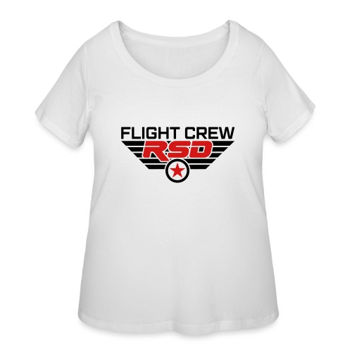 RSD Flight Crew - Women's Curvy T-Shirt