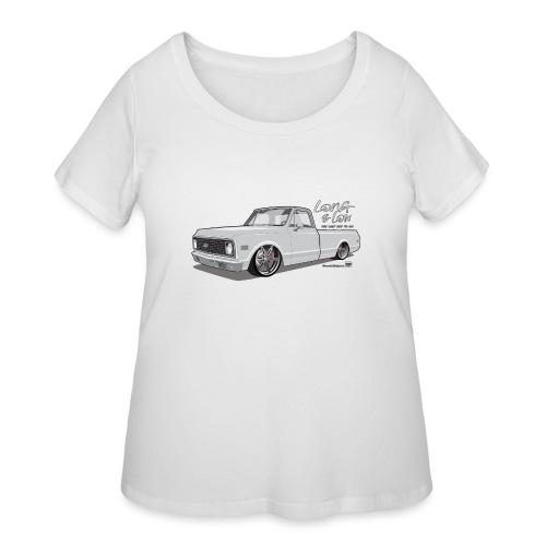 Long & Low C10 - Women's Curvy T-Shirt