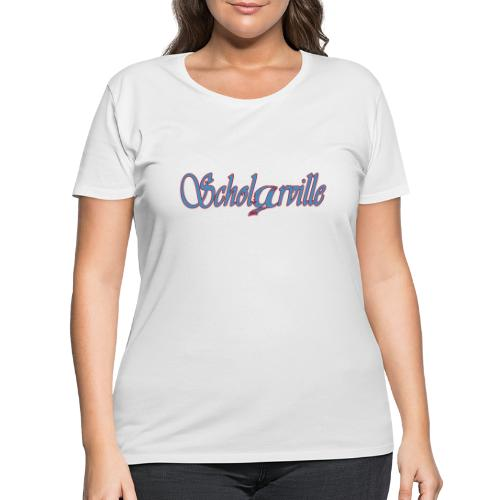 Welcome To Scholarville - Women's Curvy T-Shirt