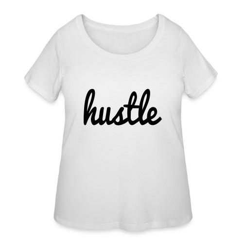 hustle vector - Women's Curvy T-Shirt