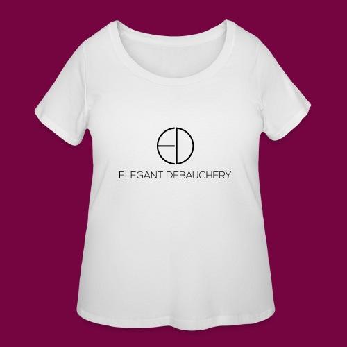 Elegant Debauchery - Women's Curvy T-Shirt