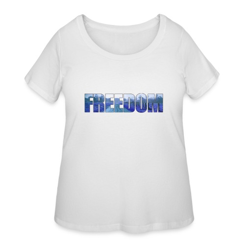 Freedom Photography Style - Women's Curvy T-Shirt
