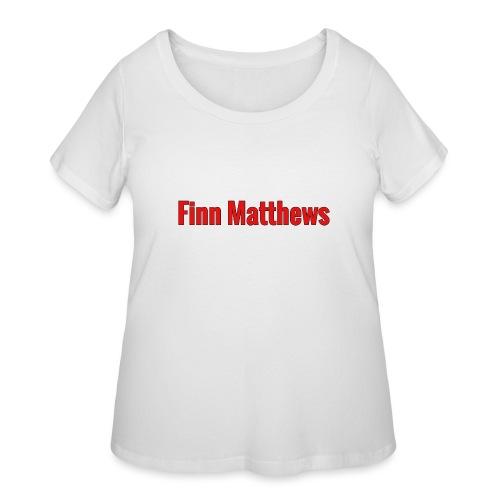 FM Logo - Women's Curvy T-Shirt
