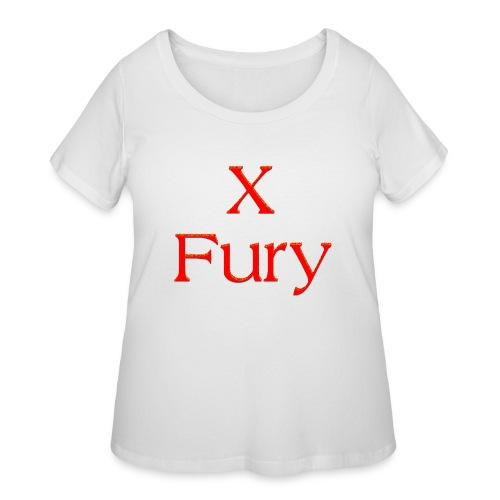 X Fury - Women's Curvy T-Shirt