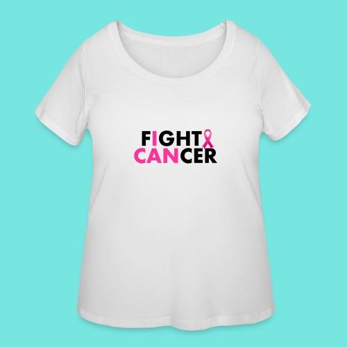 FIGHT CANCER - Women's Curvy T-Shirt