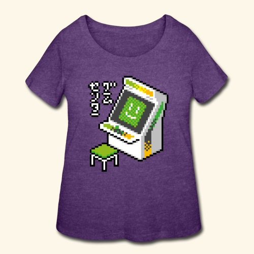 Pixelcandy_AW - Women's Curvy T-Shirt