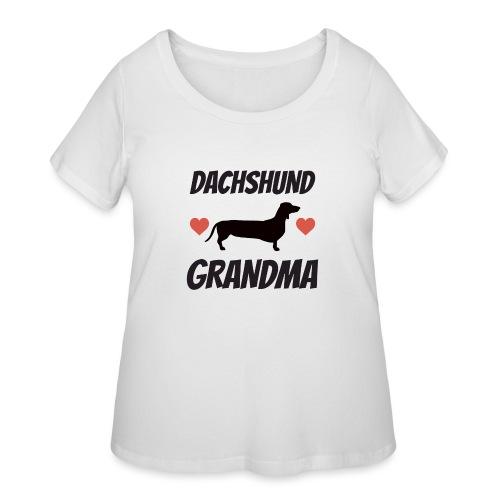 Dachshund Grandma - Women's Curvy T-Shirt