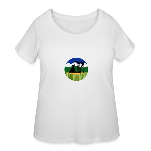 NCL Oil - Women's Curvy T-Shirt