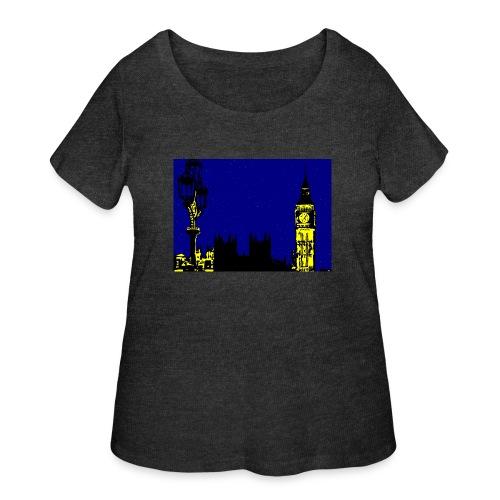 LONDON - Women's Curvy T-Shirt