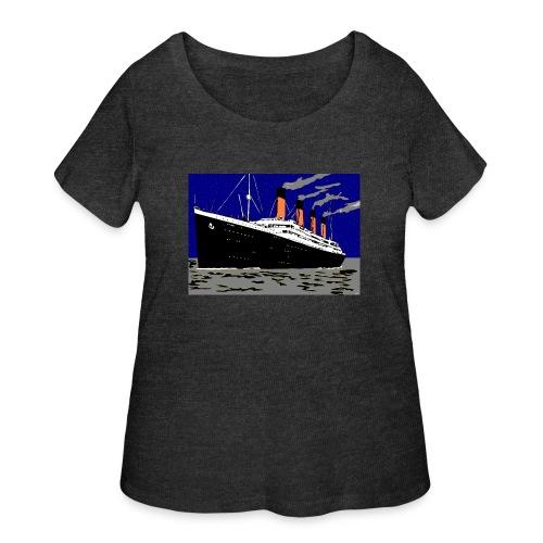 TITANIC - Women's Curvy T-Shirt