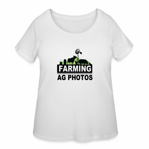 Farming Ag Photos - Women's Curvy T-Shirt