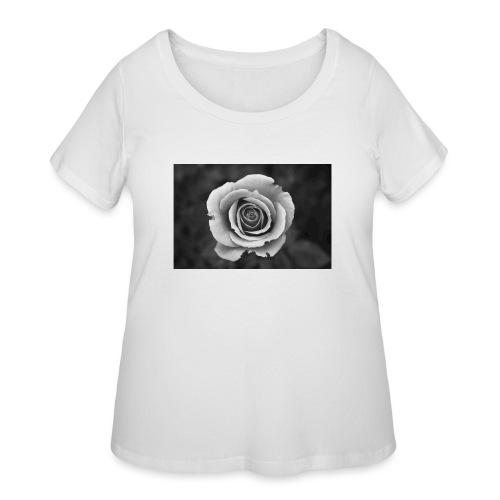 dark rose - Women's Curvy T-Shirt