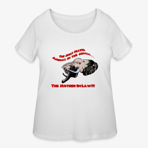 Mother in Law - Women's Curvy T-Shirt