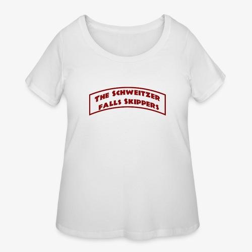 The Schweitzer Falls Skippers - Women's Curvy T-Shirt