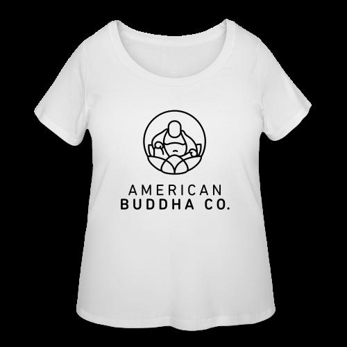AMERICAN BUDDHA CO. ORIGINAL - Women's Curvy T-Shirt