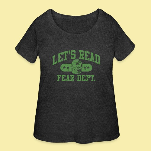 Athletic - Fear Dept. - Women's Curvy T-Shirt