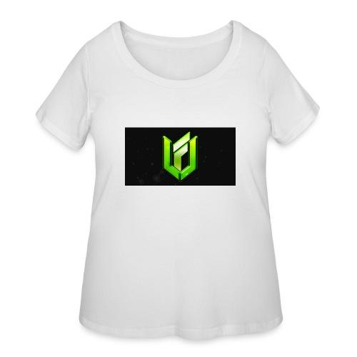 walpaper - Women's Curvy T-Shirt