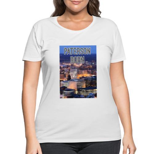 Paterson Born - Women's Curvy T-Shirt