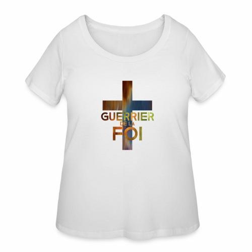 WARRIOR OF FAITH - Women's Curvy T-Shirt