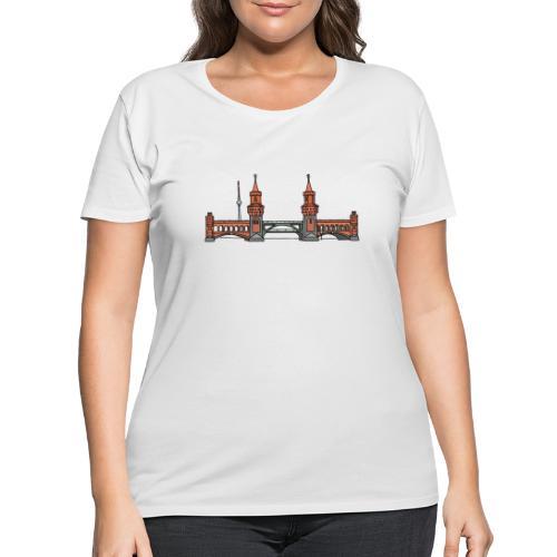 Oberbaum Bridge Berlin - Women's Curvy T-Shirt
