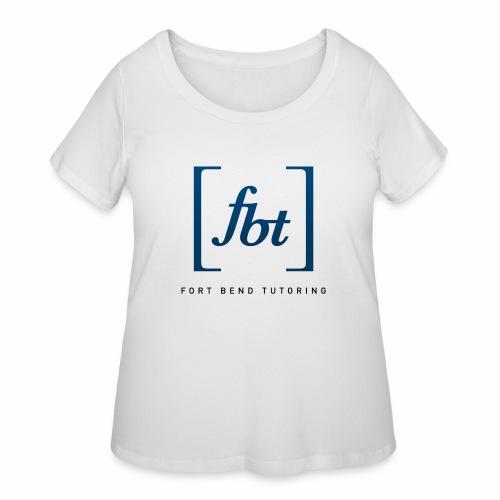 Fort Bend Tutoring Logo [fbt] - Women's Curvy T-Shirt