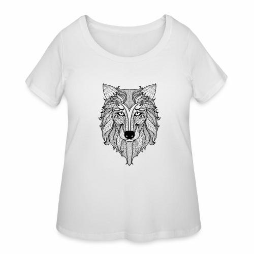 Classy Fox - Women's Curvy T-Shirt