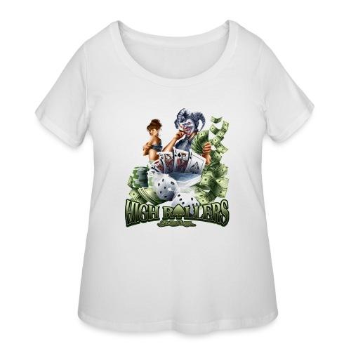 High Roller by RollinLow - Women's Curvy T-Shirt