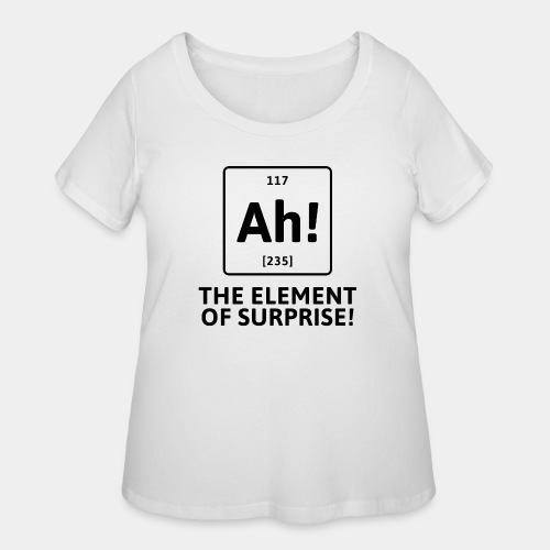 surprise - Women's Curvy T-Shirt