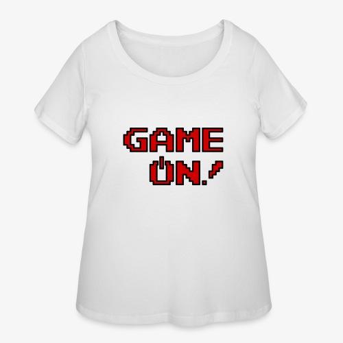 Game On.png - Women's Curvy T-Shirt
